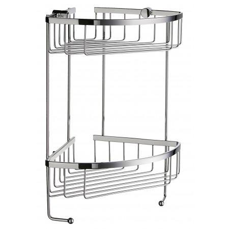 Smedbo Sideline Design Double Shower Basket